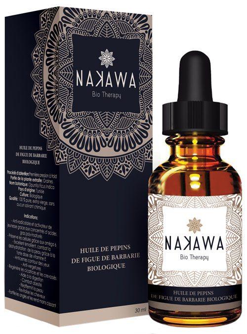 huile de pepin de figue de barbarie - Nakawa Bio