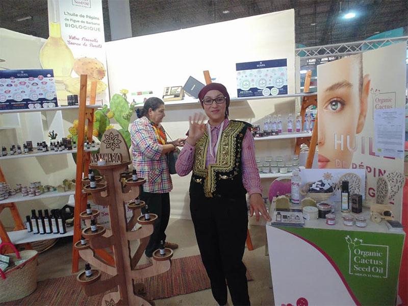 Salon de la création artisanale 2018 nakawa bio - Lobna Dems