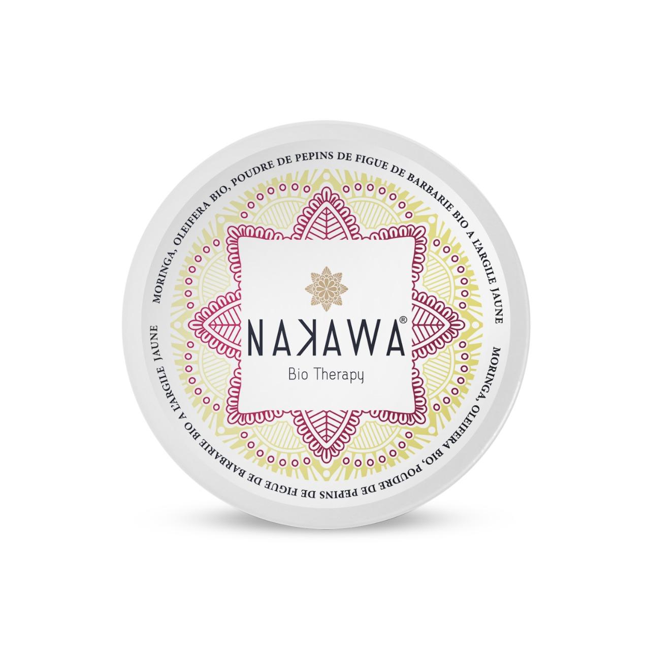 Masque Jaune pour Visage à l'Huile de Pépins de la Figue de Barbarie - Top - Nakawa Bio