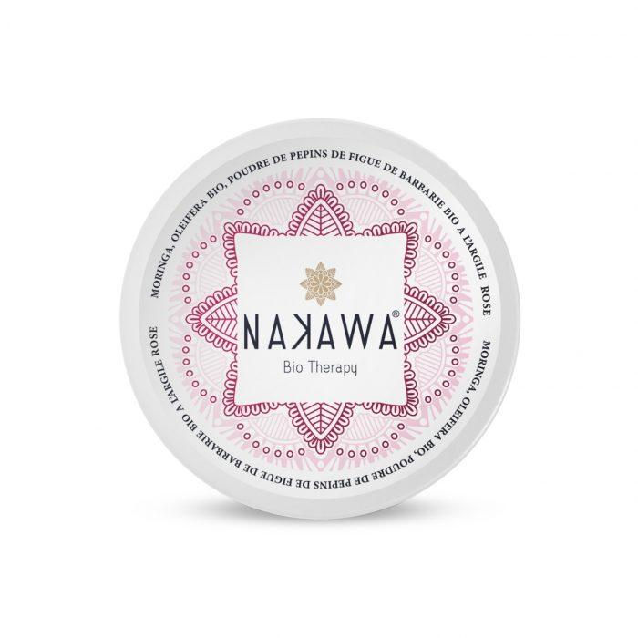 Masque Rose pour Visage à l'Huile de Pépins de la Figue de Barbarie - Top - Nakawa Bio