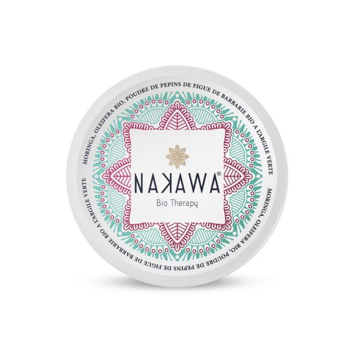 Masque Vert pour Visage à l'Huile de Pépins de la Figue de Barbarie - Top - Nakawa Bio