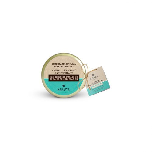 NATURAL DEODORANT BALM - ANTI PERSPIRANT WITH ORGANIC PRICKLY PEAR OIL 2 - NAKAWA BIO THERAPY