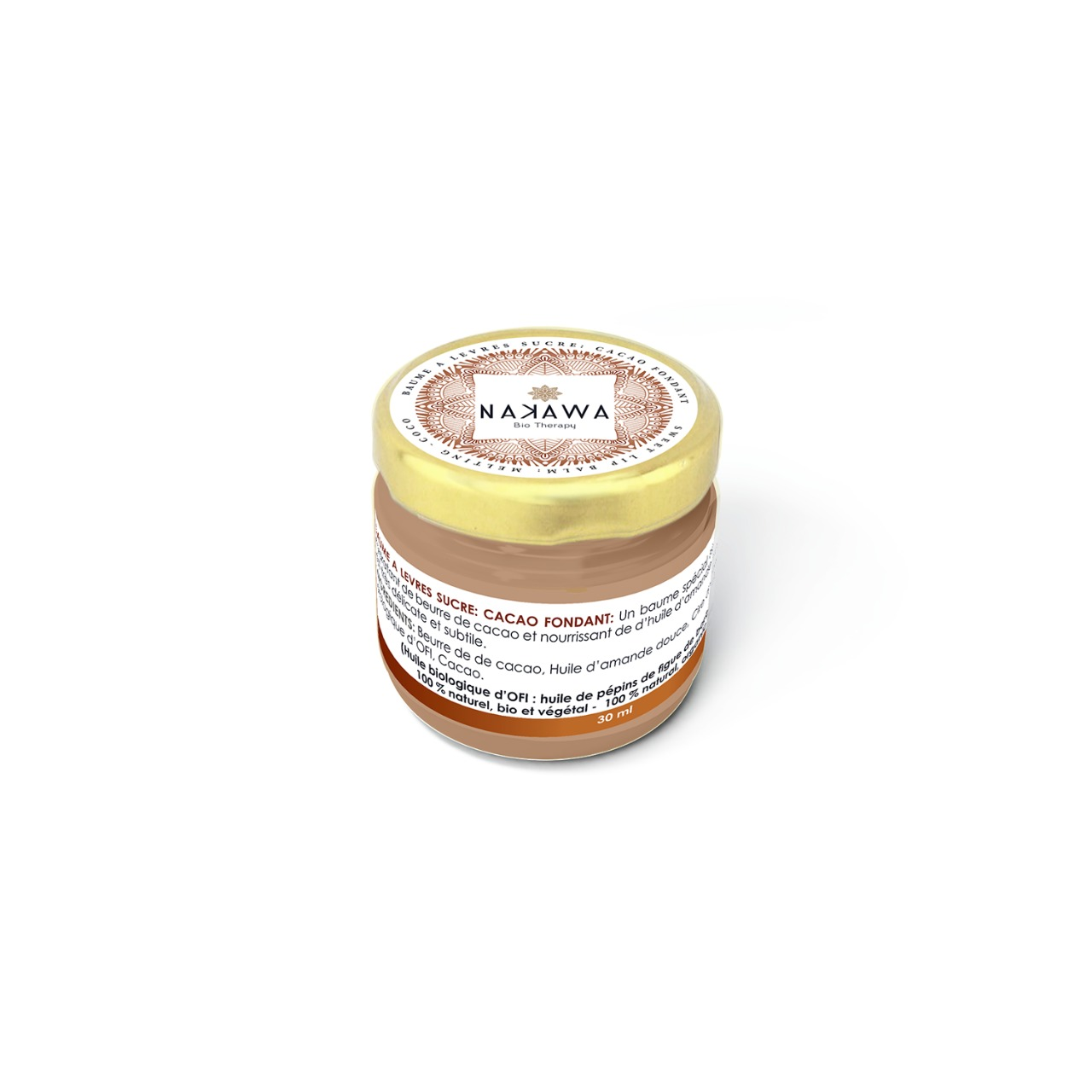 SWEET LIP BALM - MELTING COCO - Nakawa Bio Tunisia