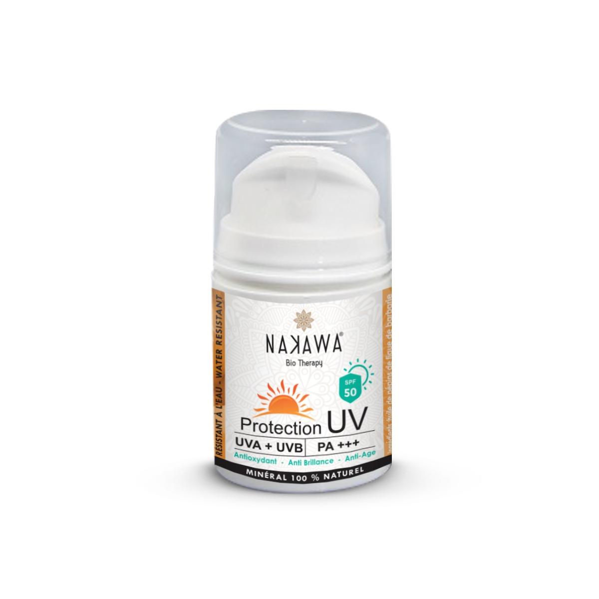 Daily Cream - Ecran Protection UV SPF 50 - NAKAWA BIO THERAPY