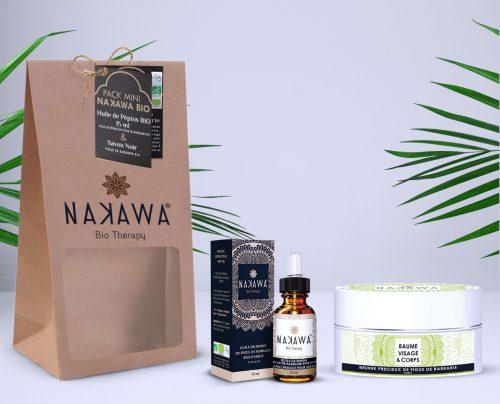 Pack Mini - Huile de pépins de figue de barbarie bio 15ml +beurre précieux de figue de barbarie - nuit - Nakawa Bio Therapy