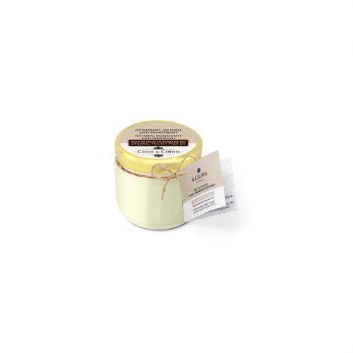 Natural Deodorant Balm with Coco and Cotton - Nakawa Bio Tunisia