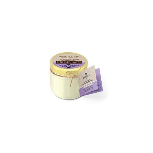 Natural Deodorant Balm with Lavander and Geranium - Nakawa Bio Tunisie