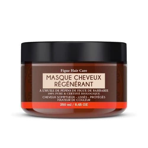 Masque cheveux régénérant a base de huile de pépins de figue de barbarie bio.