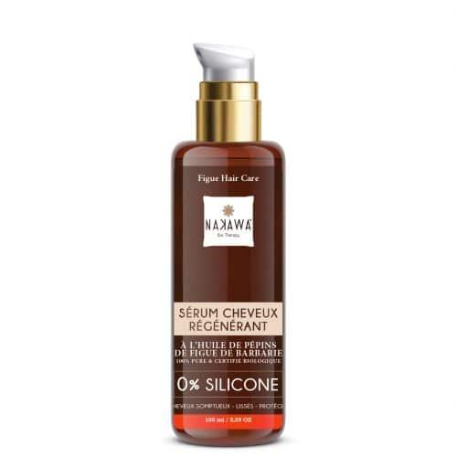 Sérum cheveux régénérant a base de huile de pépins de figue de barbarie bio.